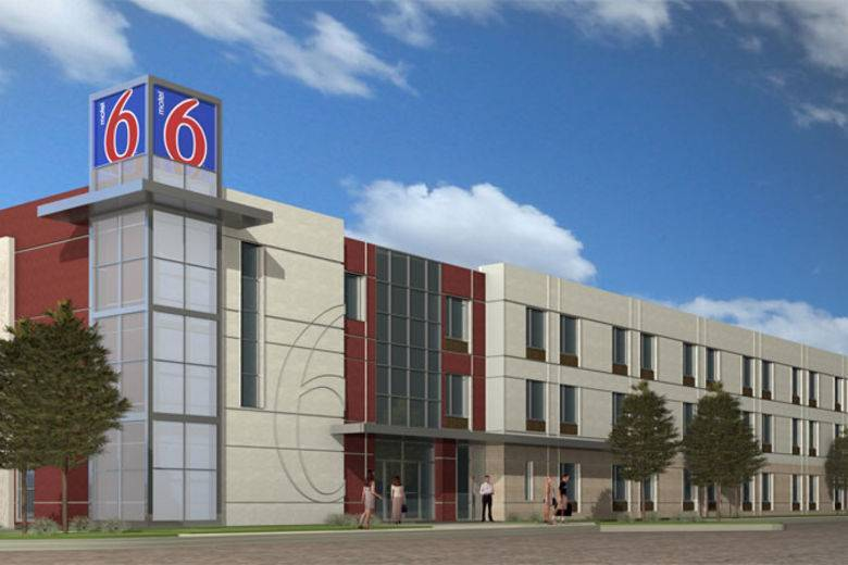 Hsyndicate press release for Motel exterior design